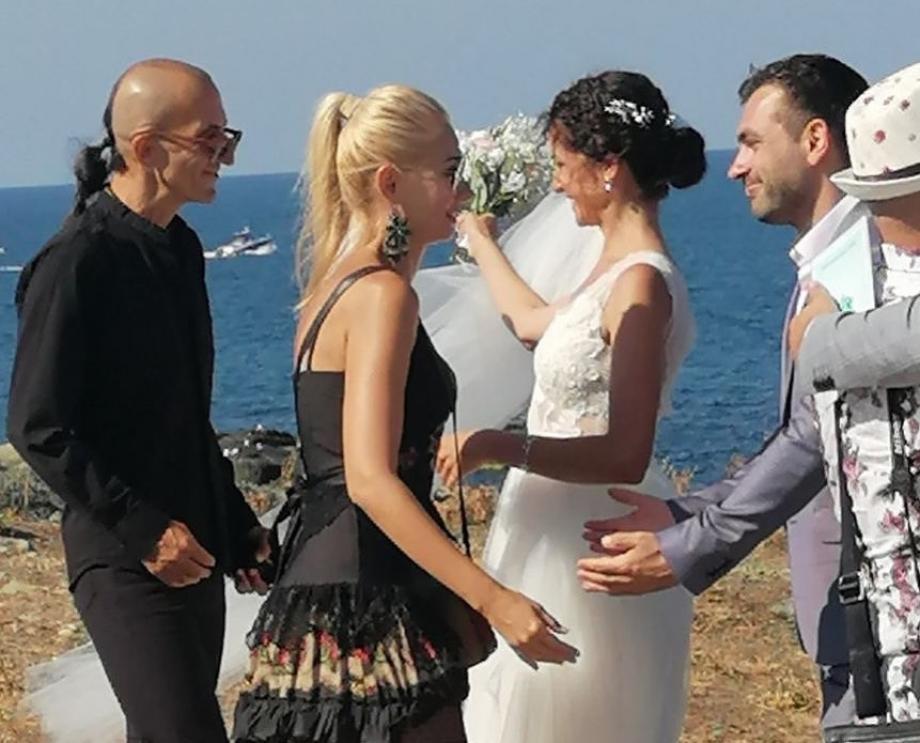 Александра Кръстева сватба